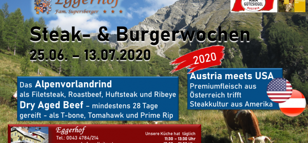 Steak-Burgerwochen 2020